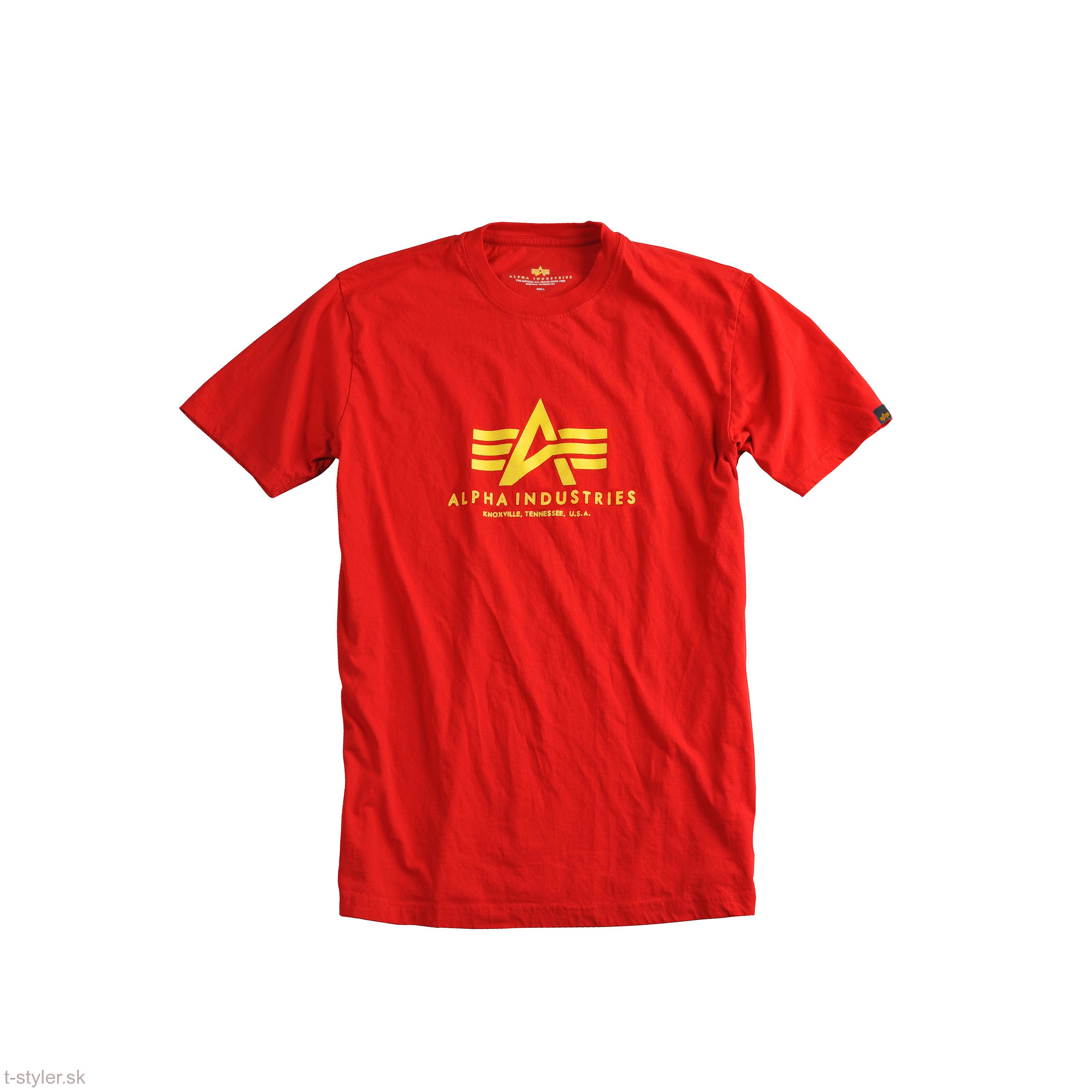 Alpha industries Basic T-shirt - red