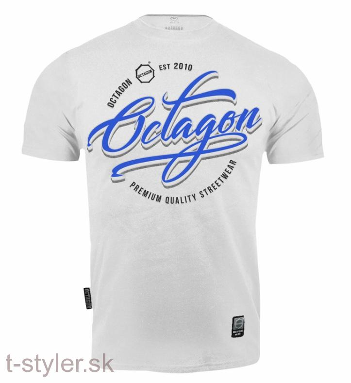 Octagon T-shirt - Elite Grey Melange