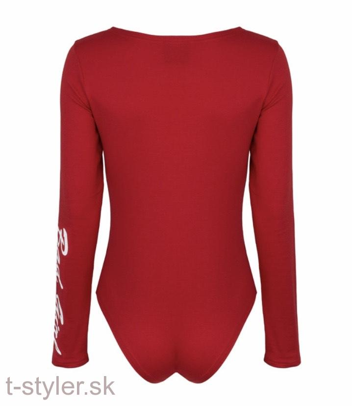 Octagon - Dámske Body - Bad Girl - Red