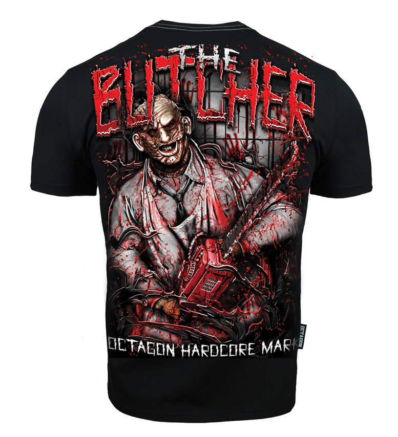 Octagon T-shirt - The Butcher - Black