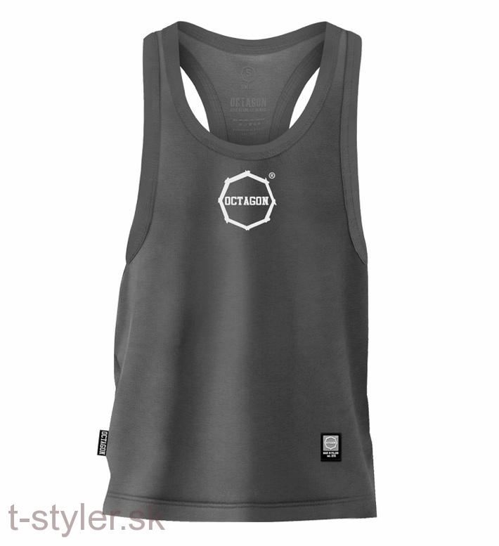 Octagon tielko - Tank top - Graphite