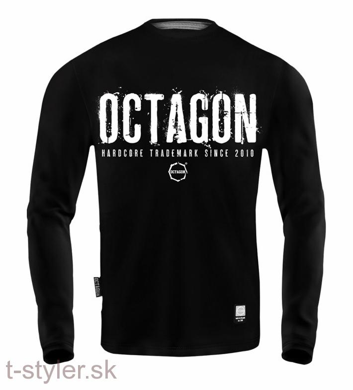 Octagon Tričko Longsleeve - Time to Hardcore party