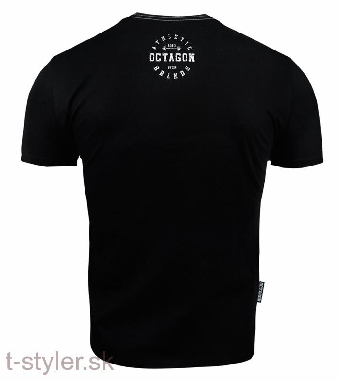 Octagon Tričko - Athletic Brands - Black