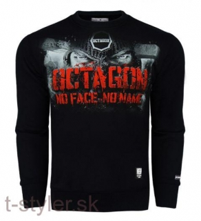 Octagon Mikina - No Face No Name - Bez Kapuce