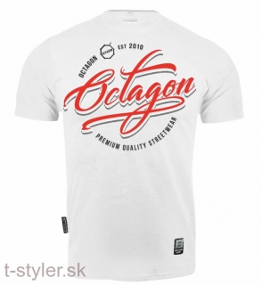Octagon T-shirt - Elite White