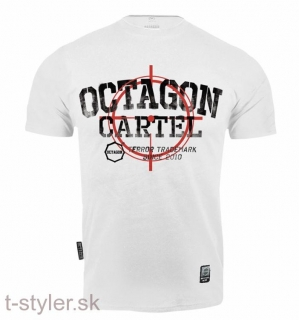 Octagon Tričko - Cartel - White