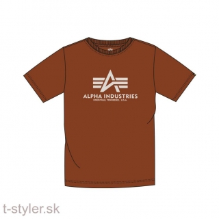 Alpha industries Basic T-Shirt - copper