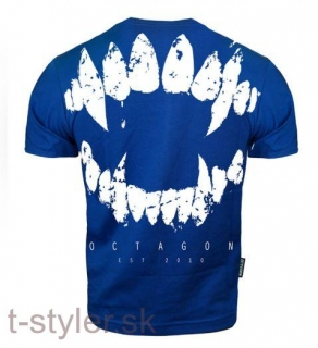 Octagon T-shirt - Zuby - Blue