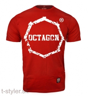 Octagon T-shirt - Zuby - Red